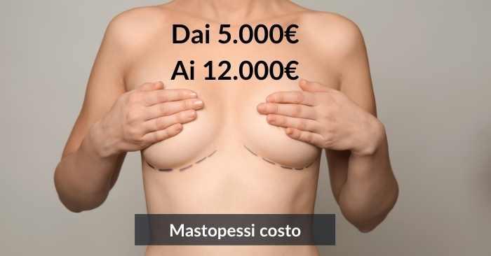 Mastopessi costi e prezzi