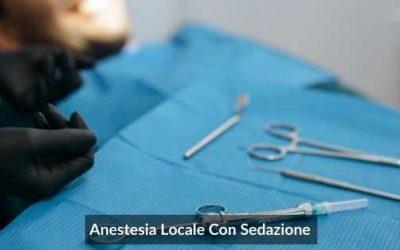 Anestesia Locale Con Sedazione: Effetti Collaterali